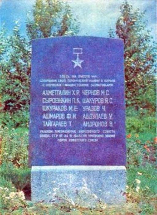 Обелиск на братской могиле в с. Сунуплява (Латвия)